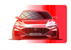 2021FordFocus_Sketches_ST-LINE_Front_1