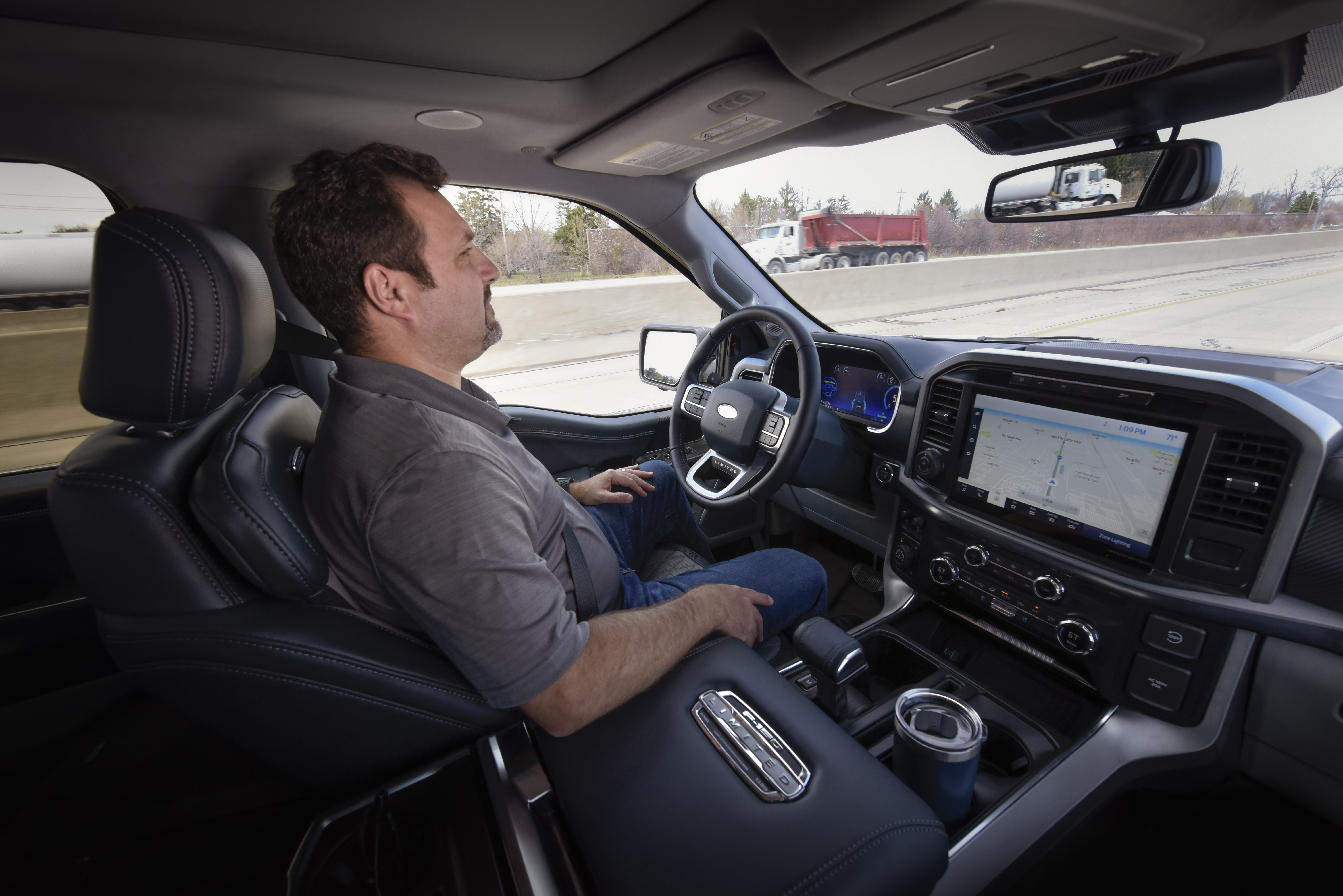 Ford will begin offering its new BlueCruise hands-free highway driving system to customers later this year after 500,000 miles of development testing and fine-tuning the technology on a journey across the United States and Canada. F-150 pictured.