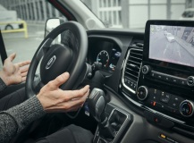 The new Ford Transit offers a wide range of technologies to help drivers park with less stress